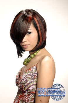 Short Hairstyle with Hair Color from Stephanie Cameron-Daily