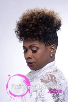 Right Side View of a Natural Hairstyle from Shayla Wade