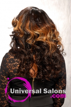Long Hair Extensions with Hair Color from Denise Granberry