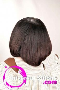 Beautiful Silk Press Natural Kid's Hairstyle (4)