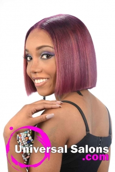 Blunt Bob Haircut with Bubble Gum Hair Color from Deirdre Clay (3)