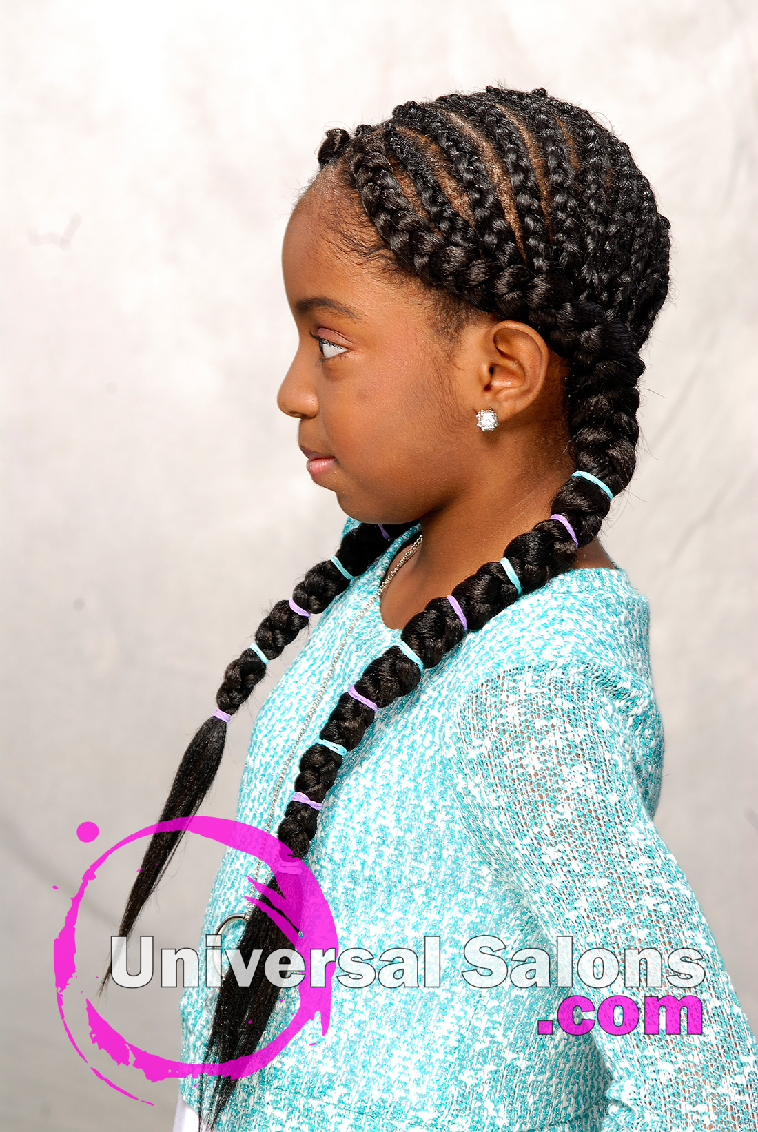 Kid S Cornrow Braids Hairstyle From Shae Thompson