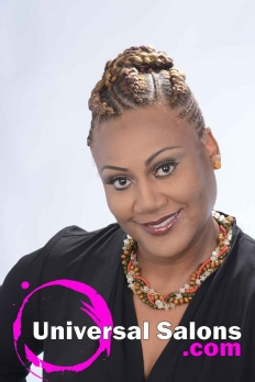 Check Out this Goddess Cornrow Updo from Patricia Clinkscales (5)