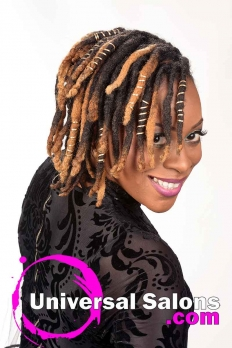 Deirdre Clay's Natural Loc Updo Hairstyle (5)
