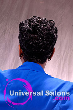 Tasha Johnson S Quot Onyx Swirl Quot Short Curly Hairstyle