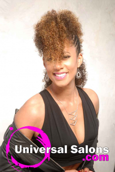 Highlighted Twisted Fohawk Hairstyle from Talia Brown Williams (2)