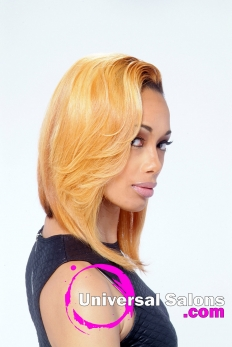 Short Layered Bob Hairstyle from Marcus Doss