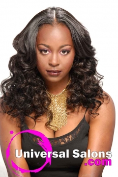 Long, Full-Bodied, Sew-In Weave Hairstyle from Denise Granberry (2)