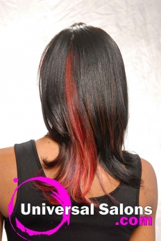 Long Hairstyle with vibrant Hair Color from Melissa Greene (4)