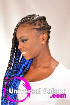 Long, Lemonade Braid Extensions from Jameka Davenport (3)