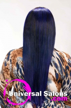 Long Royal Blue Hairstyle for Black Women from Evenia Bush (5)