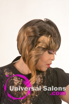 Medium Length Bob Hairstyle from Tiffany Thames (3)