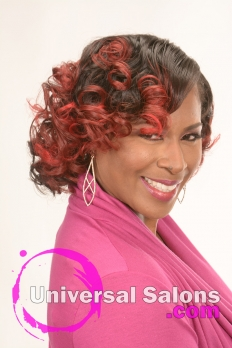 Medium Length Hairstyle with Soft Curls from Kenya Young (2)