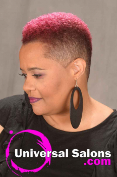 Mohawk Haircut with Hair Color from T-Rod (2)