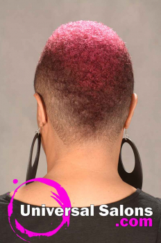 Mohawk Haircut with Hair Color from T-Rod (4)