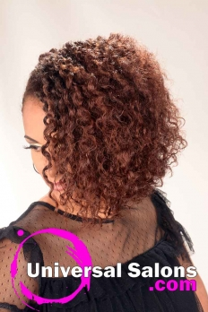 Natural Hairstyle with Braided Knots from Erma Stephens (3)