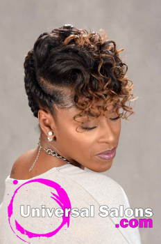 Natural Hairstyle with Braids and Twists from Sess Cannon (3)