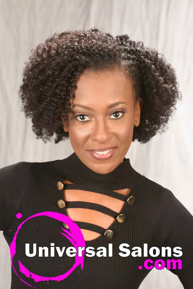 Natural Twist Set Hairstyle For Black Women From Ashley Wright