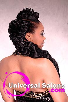 Rasheeda Berry Universal Salons Hairstyle And Hair Salon