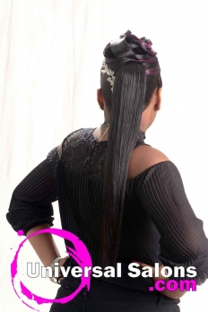 Purple Passion Ponytail from Katina King (5)