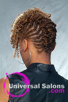 Crochet Hair Raleigh Nc : Natural Edge Crochet Braids Hairstyle by Rasheeda Berry