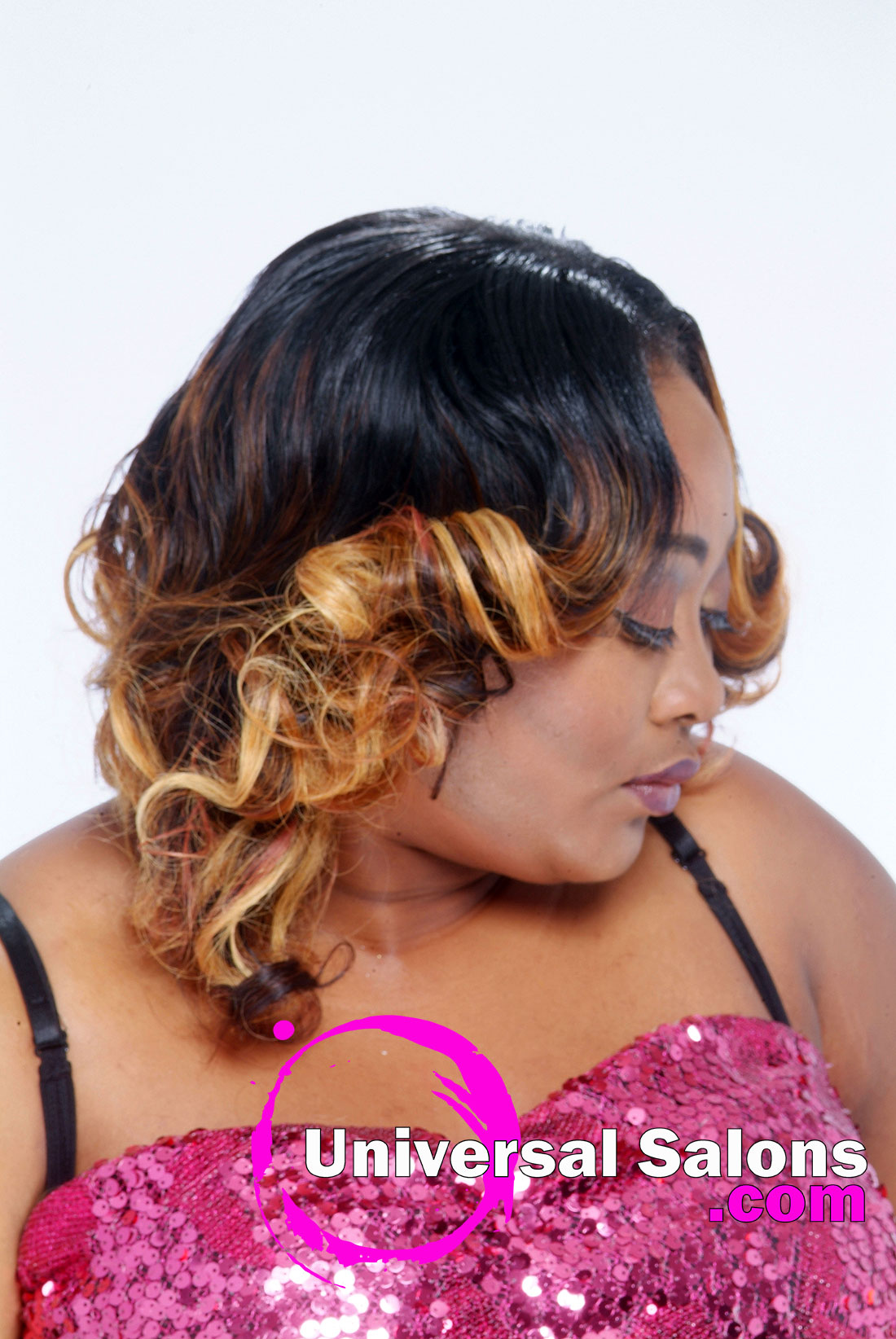 Mid Length Ombre Hairstyle from Terrill Allison