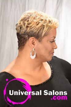 Short Curly Hairstyle with Hair Color from Karline Ricketts (7)