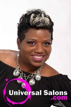 Short, Funky Black Hairstyle from Octavia Bonnette (1)