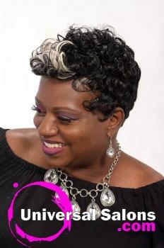 Short, Funky Black Hairstyle from Octavia Bonnette (2)