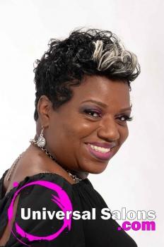 Short, Funky Black Hairstyle from Octavia Bonnette (3)
