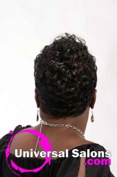Short, Funky Black Hairstyle from Octavia Bonnette (4)