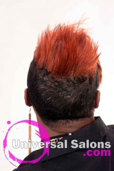 Short Hairstyle with Copper Hair Color from Kenya Young (4)