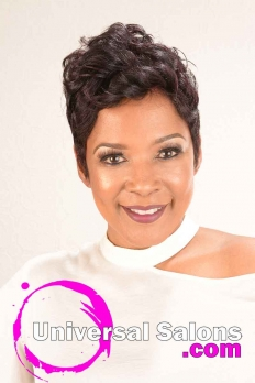 Short Hairstyle with Curls from Nette Mayfield (2)