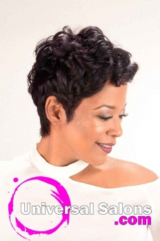 Short Hairstyle with Curls from Nette Mayfield (3)