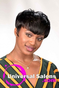 Sizzling Short Relaxed Hairstyle from Tameka Adams (3)
