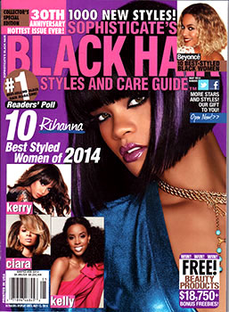 Astounding Black Hair Magazine Universal Salons Hairstyle And Hair Salon Hairstyles For Women Draintrainus