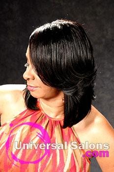 Shalonda Peachlyn's Beautiful Long Hairstyle