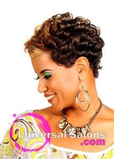 Wondrous Short Hairstyles Universal Salons Hairstyle And Hair Salon Galleries Hairstyle Inspiration Daily Dogsangcom