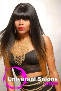 Terresa Murray's Silky Long Black Hairstyle (5)