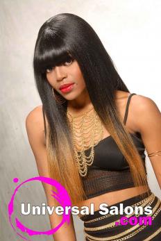 Terresa Murray's Silky Long Black Hairstyle (6)