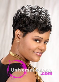 This Beautiful Short Hairstyle for Black Women By Karline Ricketts is Your Next Look (4)