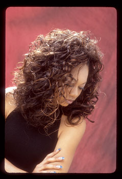 CURLY HAIR STYLES from DEBRA WOODS