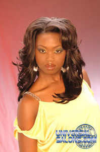 Long Black Hairstyle with Loose Curls from Ms. Jackee