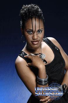 Rasheeda Berry's Night on the Town Updo Hairstyle