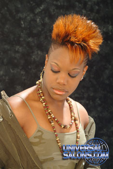 MOHAWK HAIR STYLES from ALTEREA BAXTER