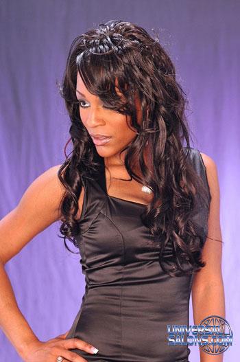 LONG HAIR STYLES from SARAH JONES