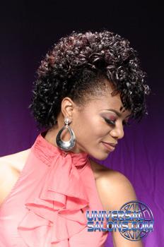 Curly Fauhawk from Shameeka Moore