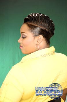 Raised Braid | Universal Salons Hairstyle And Hair Salon Galleries