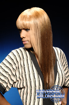 Elegant Long Hairstyle with Two Toned Extensions from Columbia SC Cosmetologist Nikki Glasgow