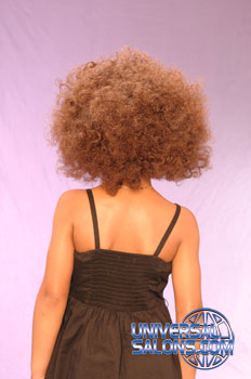 Back View: High Volume Bob Hairstyle for Little Girls
